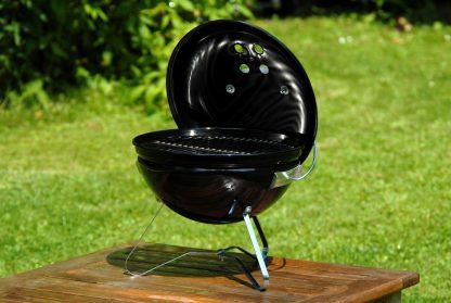 Barcacoa de mesa con tapadera