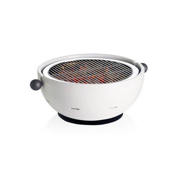 Barbacoa de mesa con exterior en ceramica for Ceramica exterior