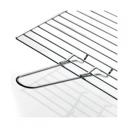 Barbacoa de diseño de mesa blanca cuadrada de sobremesa