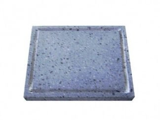 Piedra Volcanica para asar carne a la piedra 25x20x3