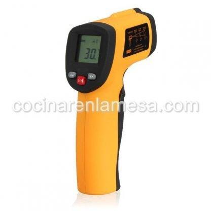 Termómetro láser por infrarrojos mide desde -50ºC hasta 550ºC