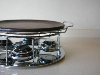 Plato asar carne de ceramica refractaria con plato de 29cm