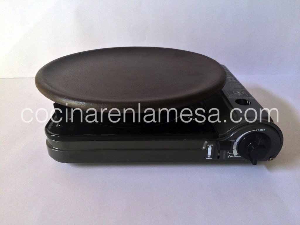 Cocina gas portatil plato ceramica refractaria 29 2 - Cocina portatil gas ...