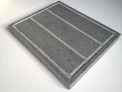 Piedra para asar Volcanica 30x25x3cm