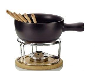 Fondue-soporte-madera-quemador-alcohol-pinchos-cocinarenlamesa